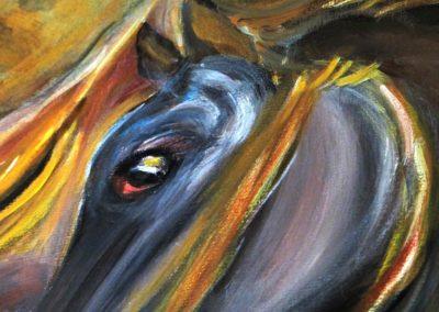 Deux-chevaux-bais-detail-1