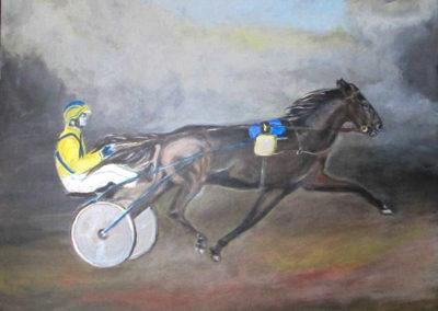Driver-cheval-attele
